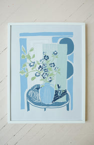 Flowers for Margaret - Silkscreen Print