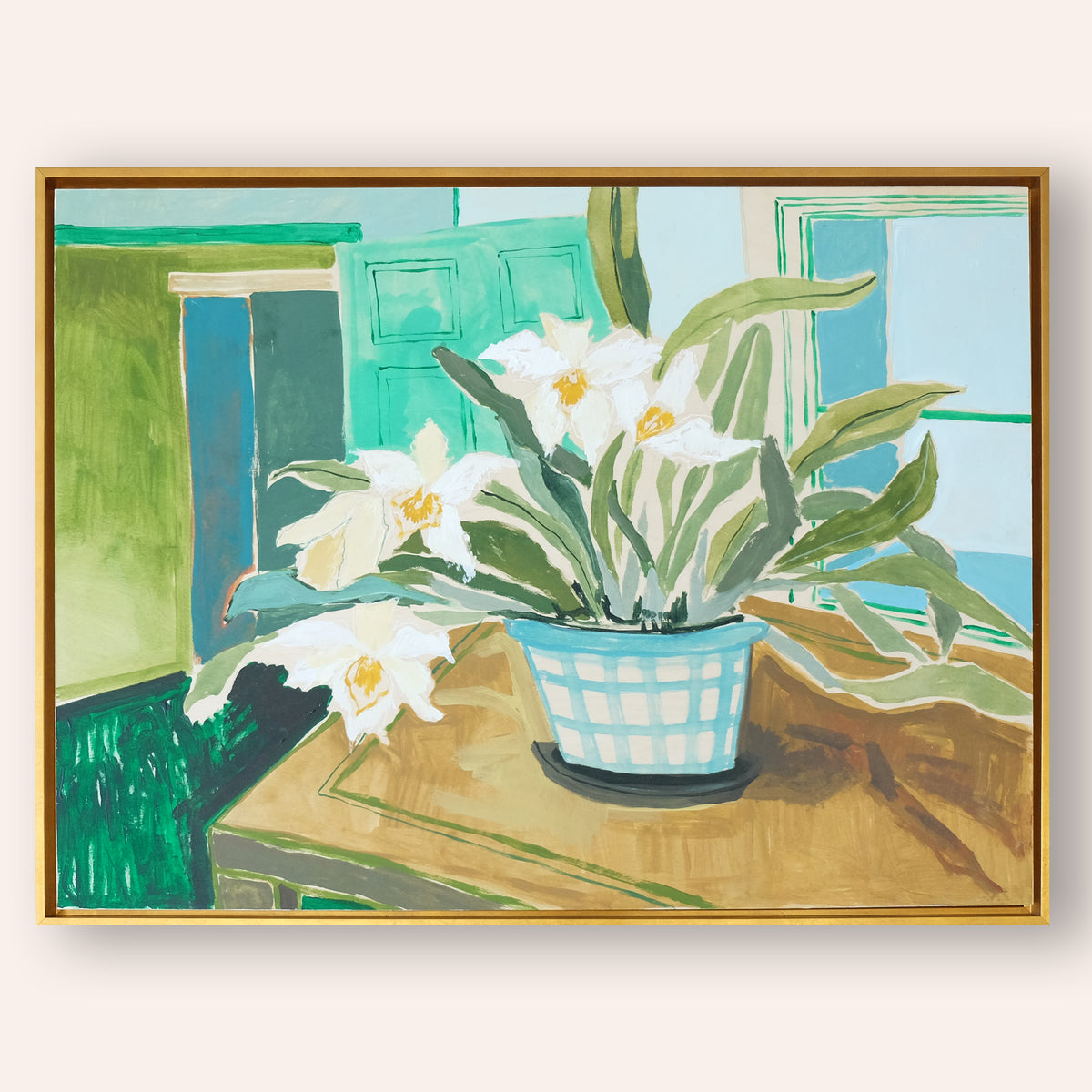 Potted Orchid No. 14 - 30 x 40