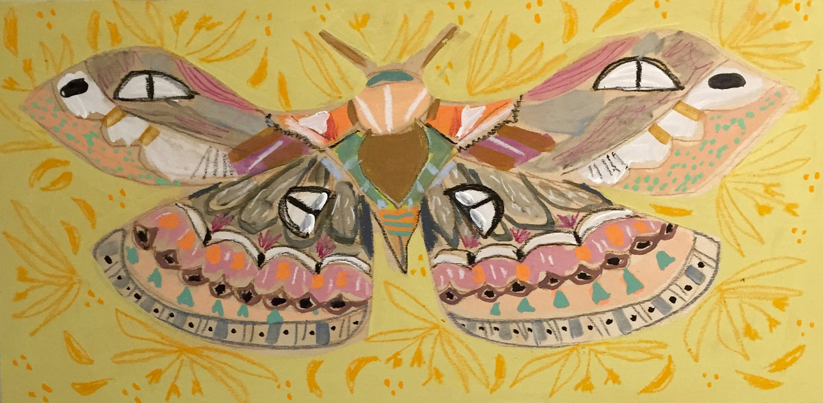 12X24 - MEGAN THE MOTH