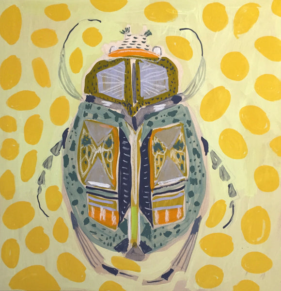 18X18 -  RICHARD THE BEETLE