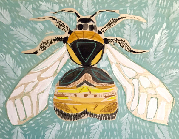 12X16 - BECKY THE BEE