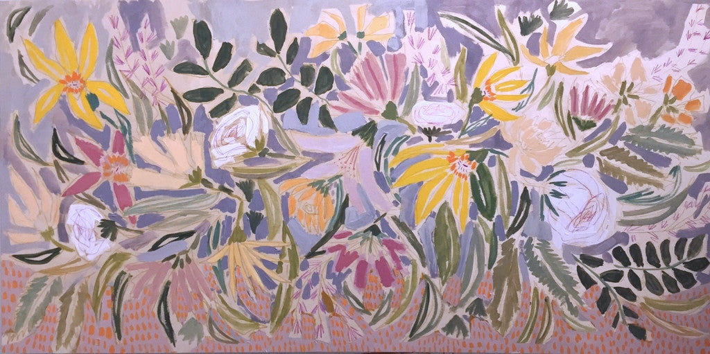 FLOWERS FOR ERIN - 24X48