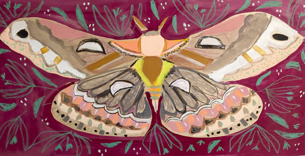 12X24 - MELINDA THE MOTH