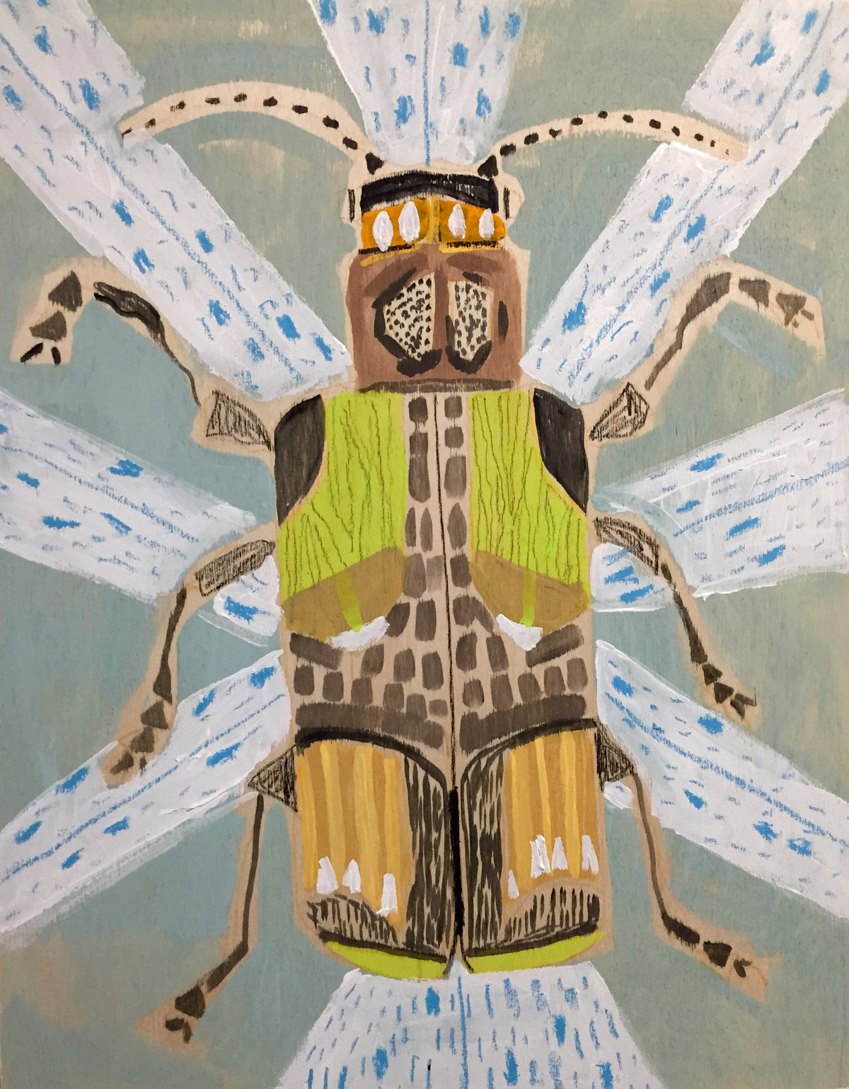 18X14 - SAMUEL THE BEETLE
