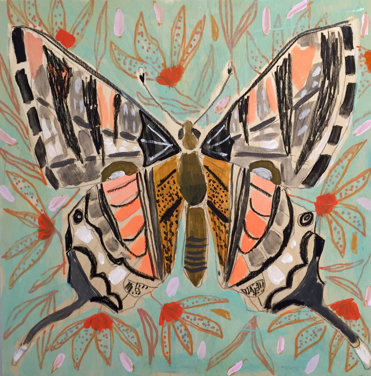 16X16 - CYNTHIA THE BUTTERFLY