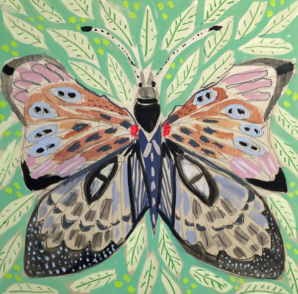14X14 - ALEXANDRA THE BUTTERFLY