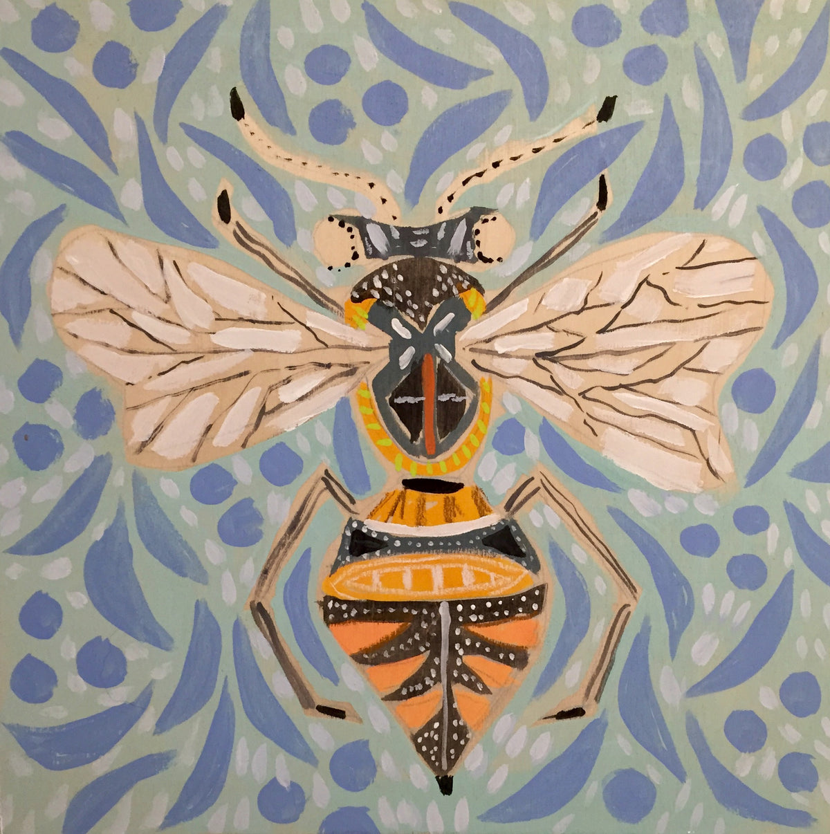 14X14 - BORIS THE BEE