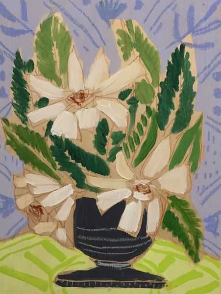 GARDENIAS - FLOWERS FOR BETH - 9x12