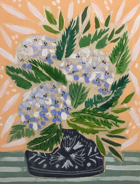 HYDRANGEAS - FLOWERS FOR KATIE - 11x14