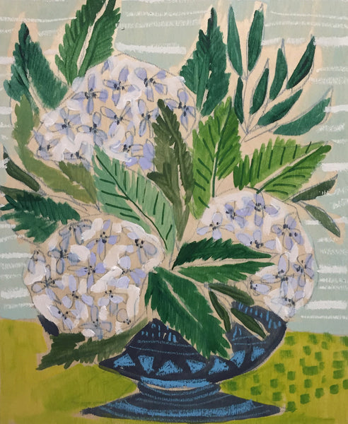 HYDRANGEAS - FLOWERS FOR LAIL - 11x14