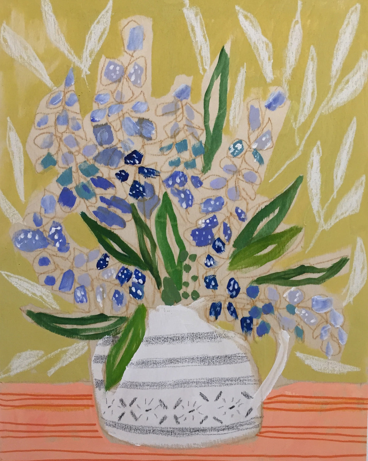 STATE FLOWER OF TEXAS - FLOWERS FOR BIZZY - 11x14