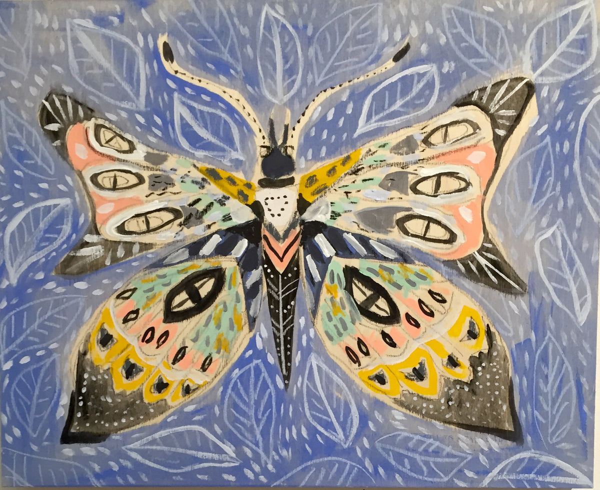 16X20 -  CHARLOTTE THE BUTTERFLY