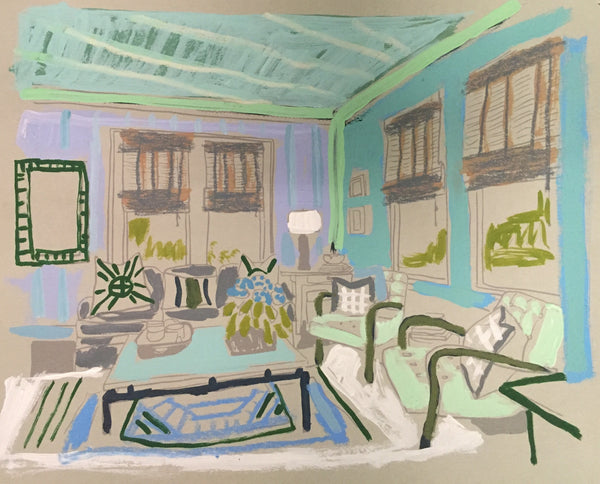 Interior Work on Paper #16