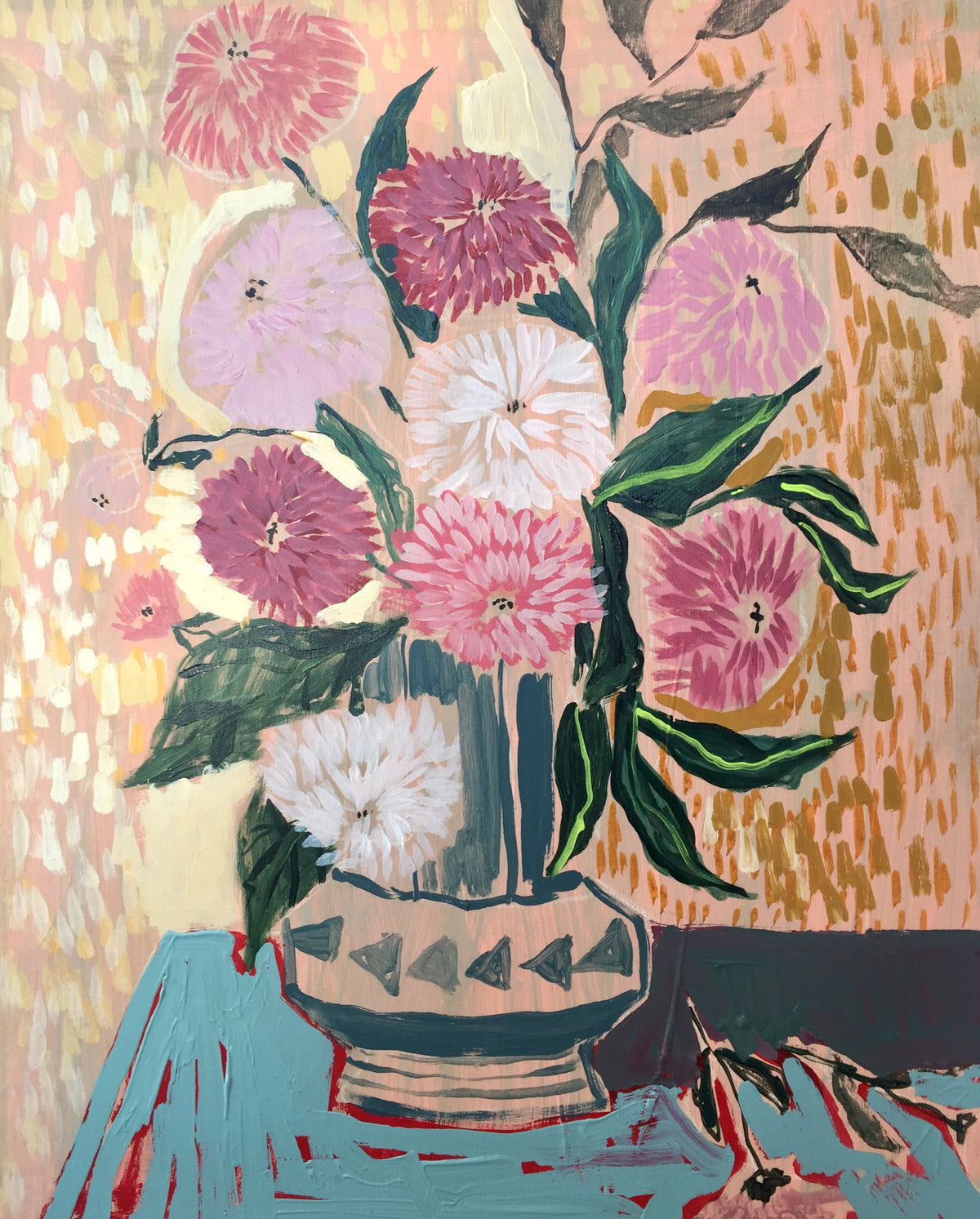 FLOWERS FOR ABIGAIL - 16x20
