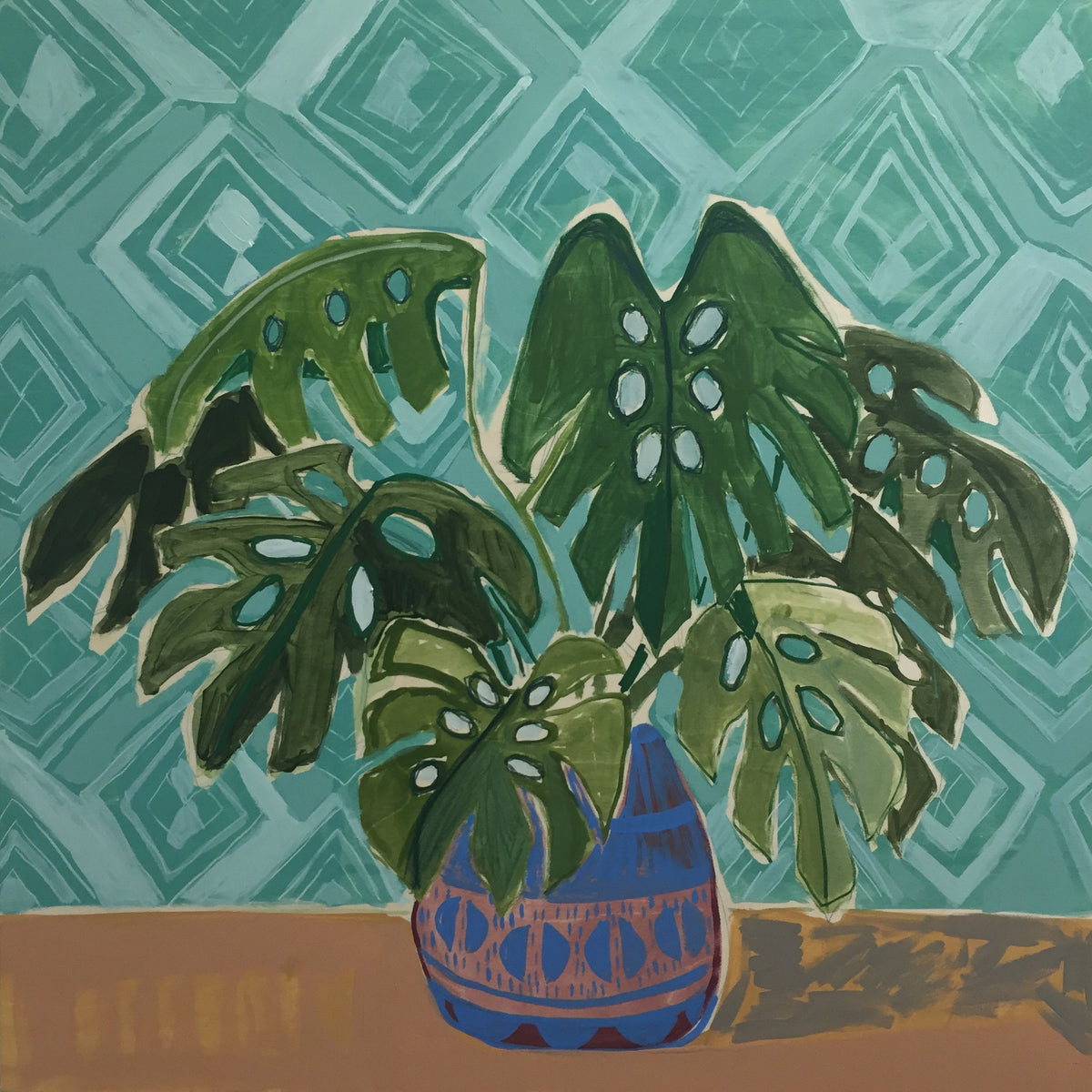 Philodendrons for Penelope - 30X30