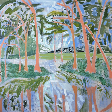 Lowcountry Landscape No. 23 - 48x48