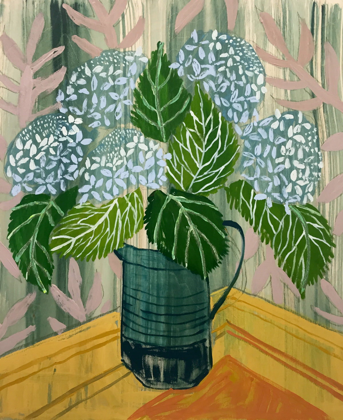 HYDRANGEAS - FLOWERS FOR AIDEN - 20X24""