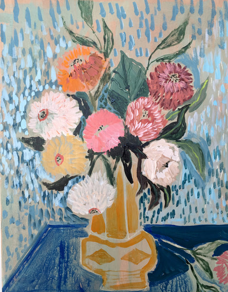 FLOWERS FOR MARGARET - 16x20