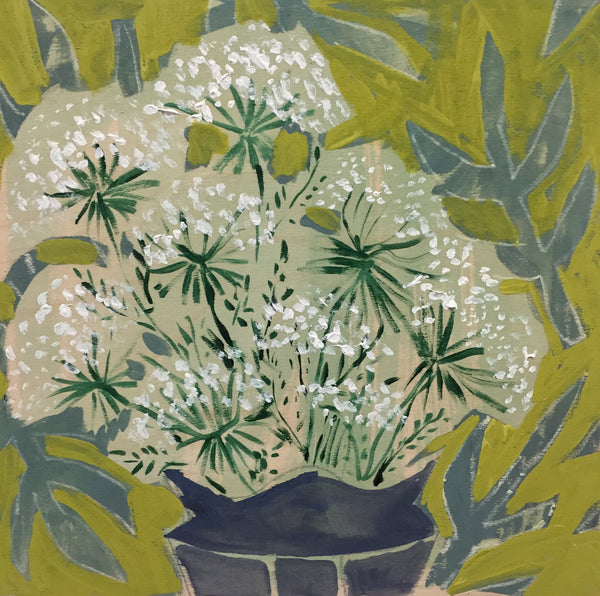 QUEEN ANNE'S LACE - FLOWERS FOR SCARLETT - 12X12""