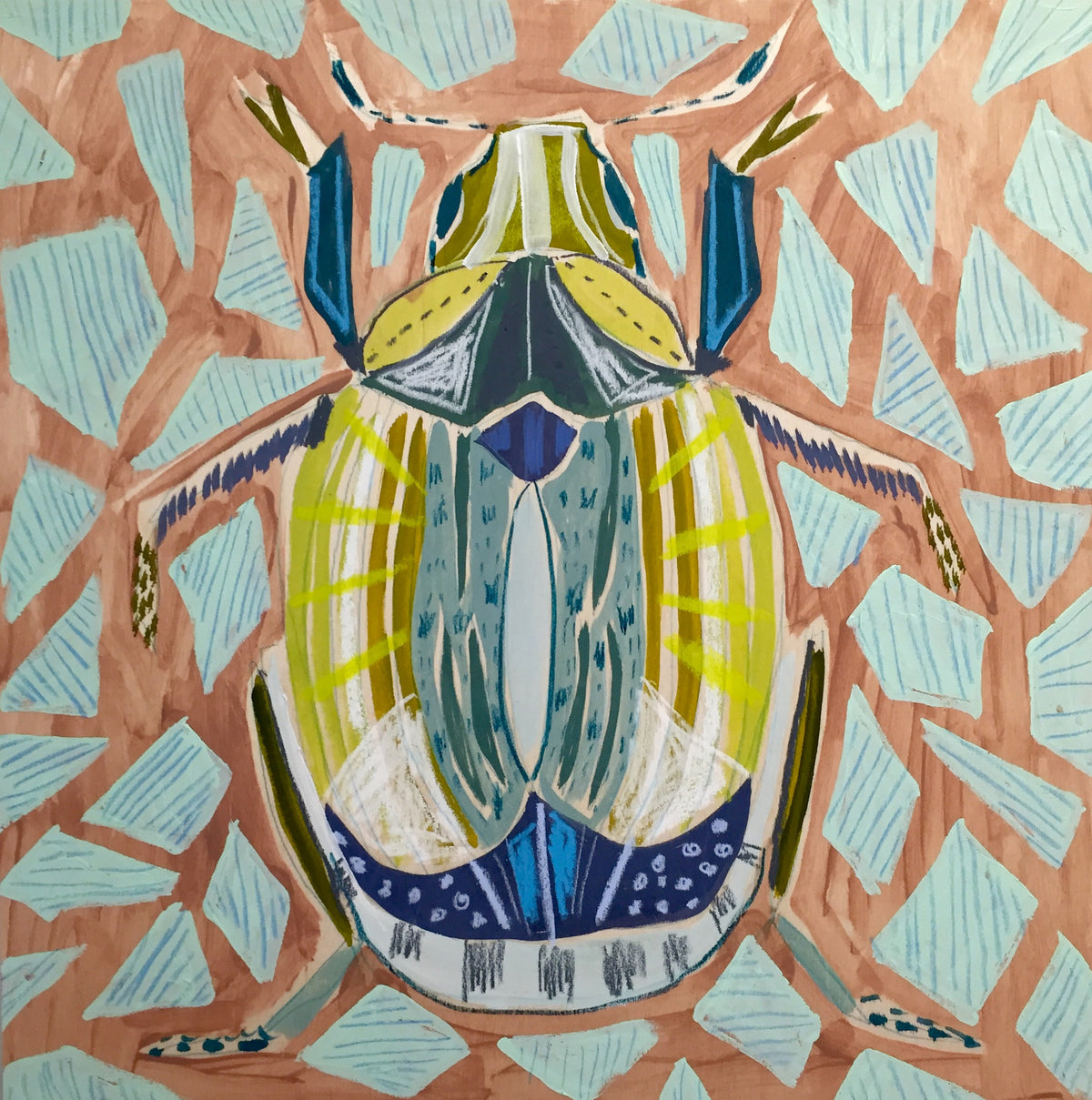18X18 - FRANK THE BEETLE