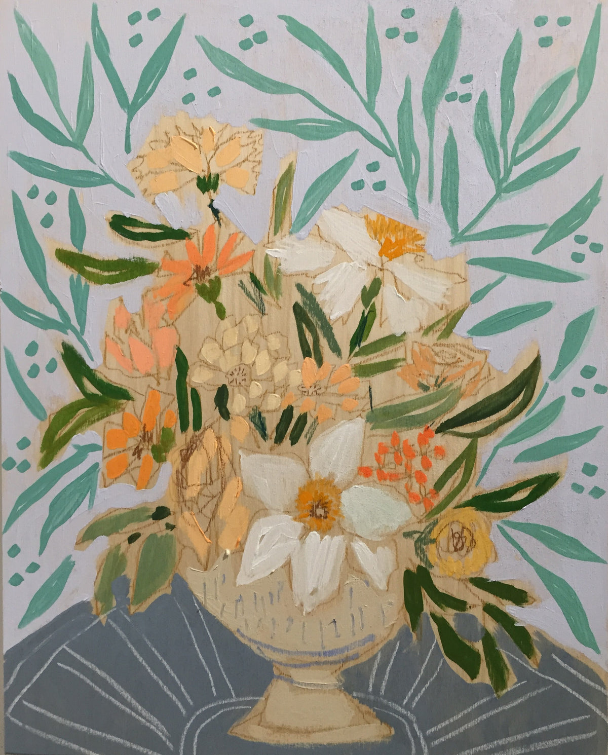 FLOWERS FOR ELLIE - 16X20