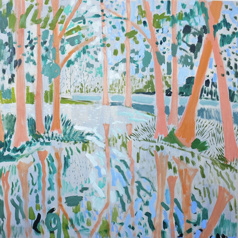Lowcountry Landscape No. 24 - 48x48