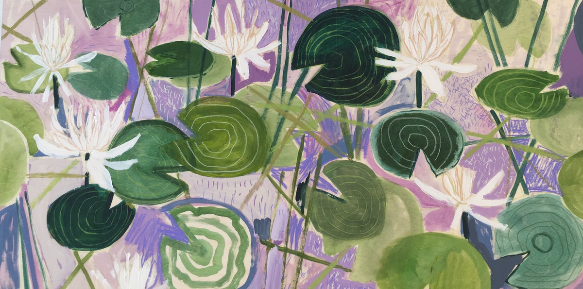 AQUATIC PLANTS NO.24 - 24X48""