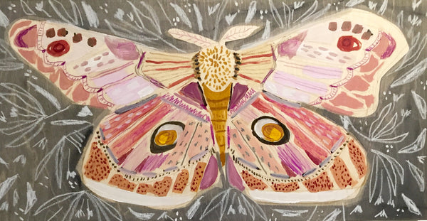12X24 - MAGGIE THE MOTH