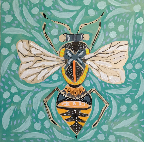 14X14 - BILL THE BEE