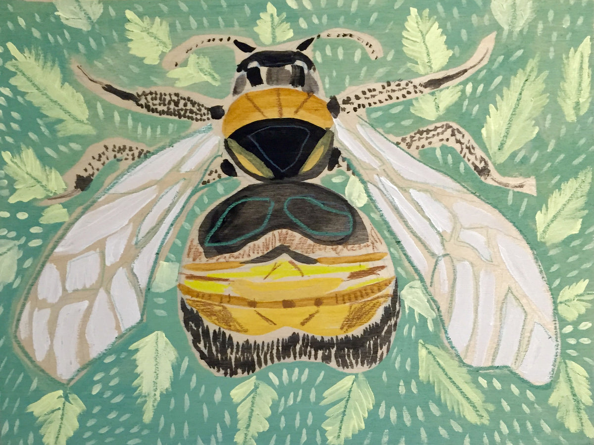 12X16 - BEATRICE THE BEE