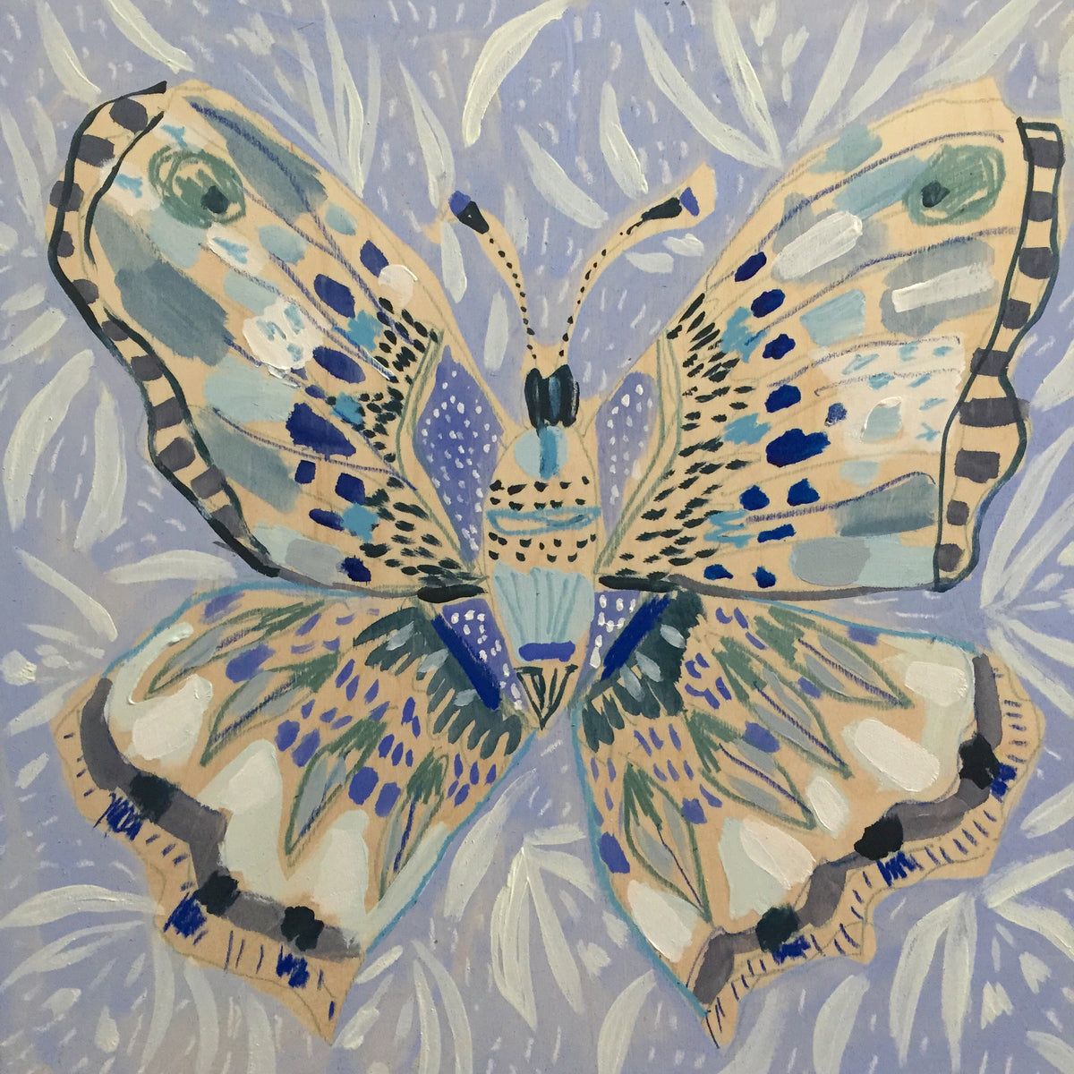 16x16 - BARBARA THE BUTTERFLY