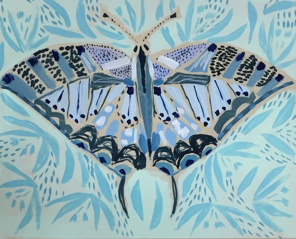 16x20 - CORA THE BUTTERFLY