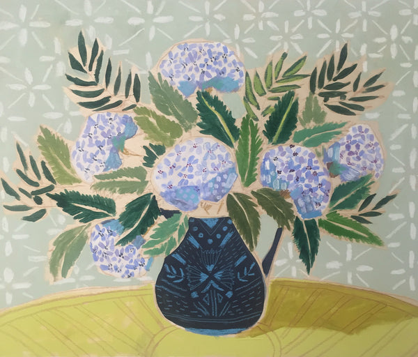 HYDRANGEAS - FLOWERS FOR VIOLET - 24X30