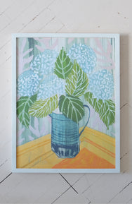 Hydrangeas - Flowers for Aiden - Print