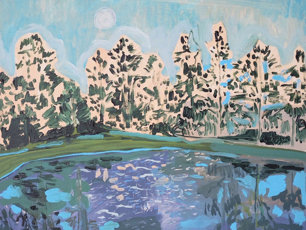 Moonlight Lake No. 1 - 20 x 24