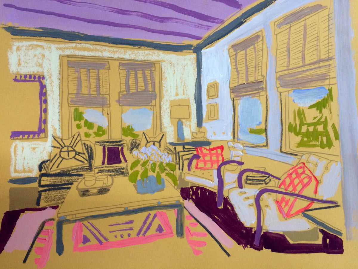 Interior Work on Paper #15