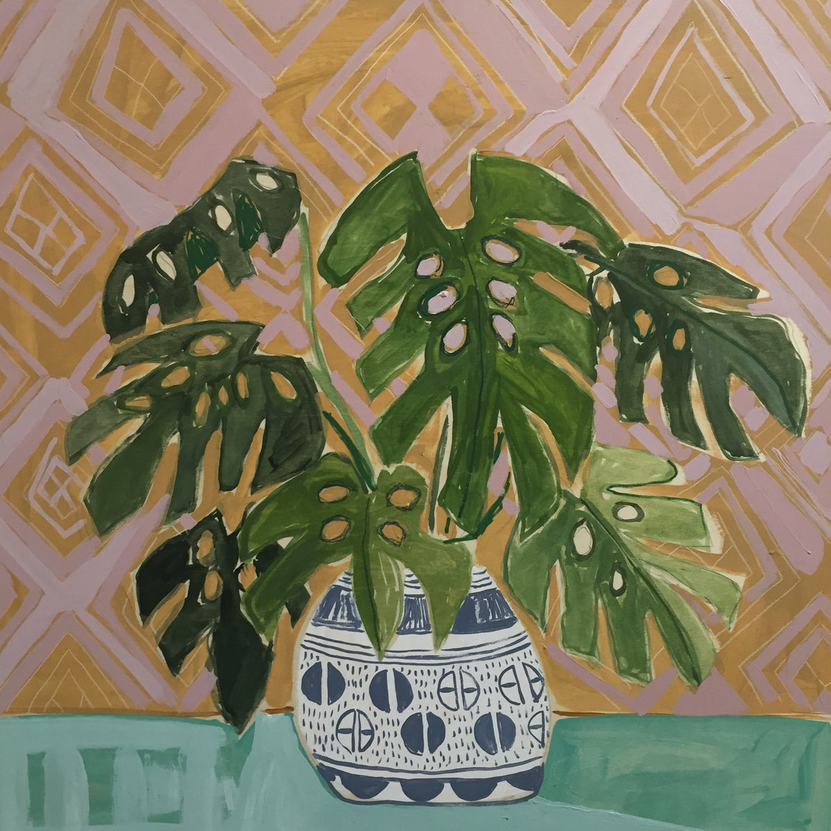 Philodendrons for Piper - 30X30