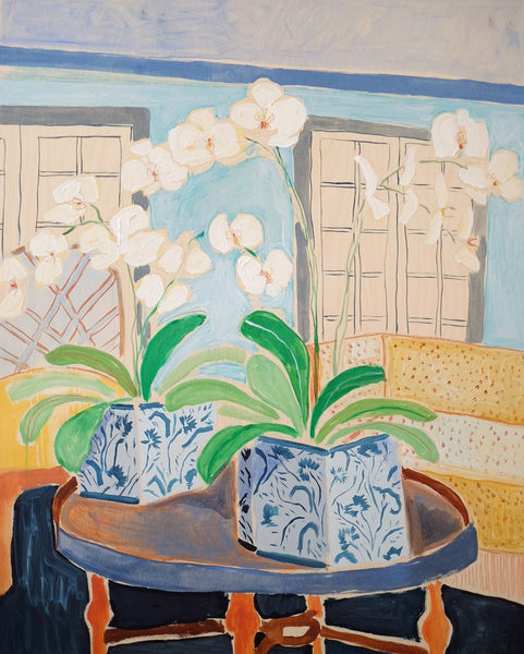 Potted Orchid No. 13 - 30 x 40
