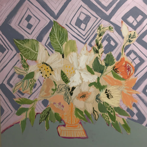FLOWERS FOR ANNA - 24x24