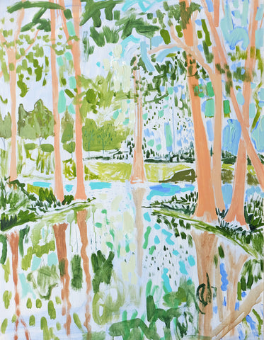 Lowcountry Landscape No. 20 - 36x48