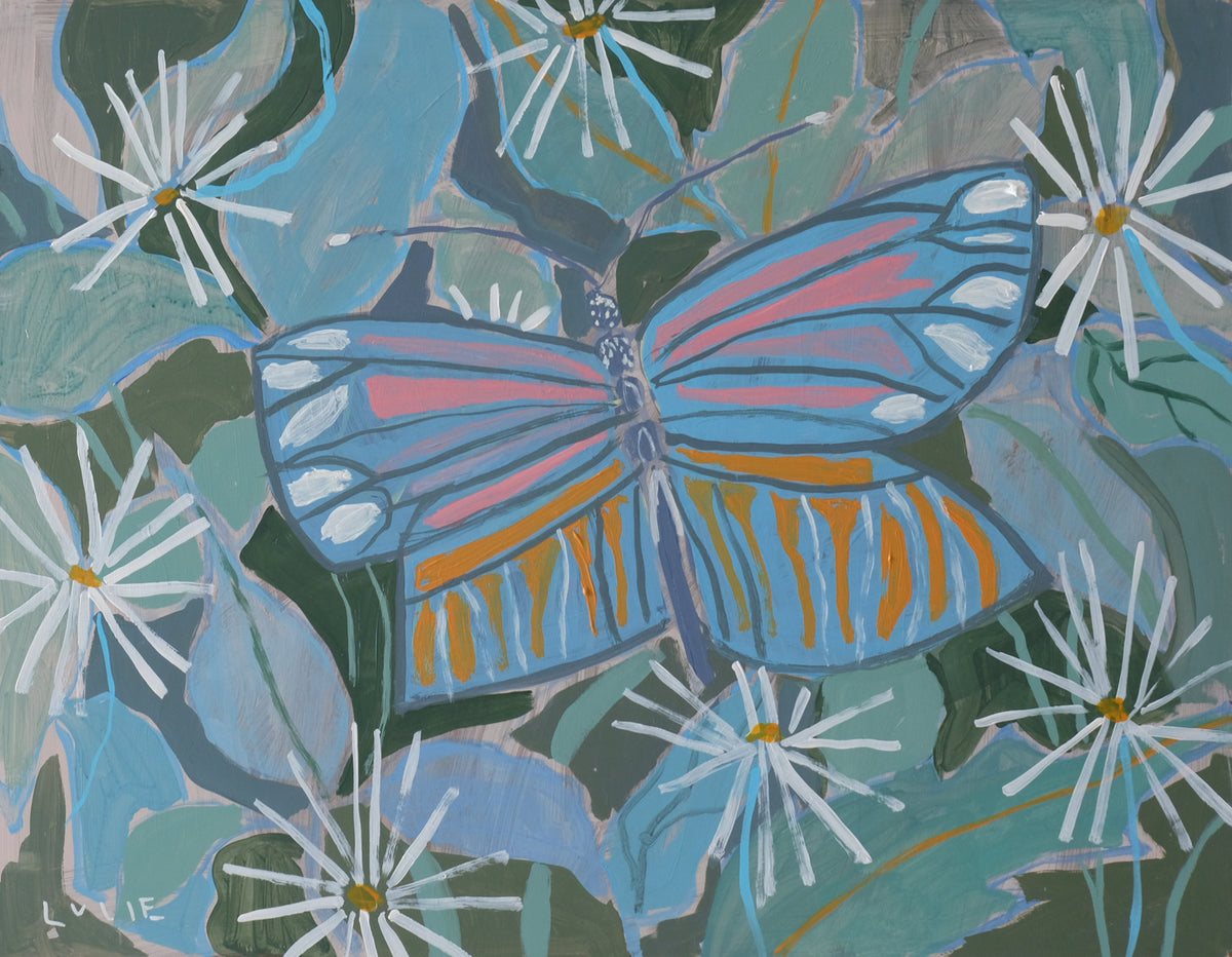 Nancy the Butterfly - 18 x 24