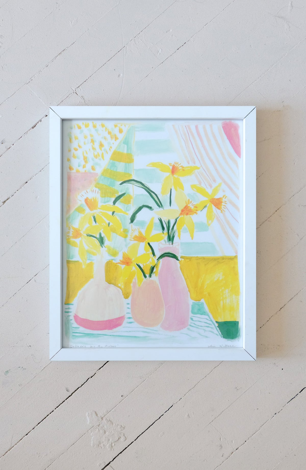 Daffodils for My Mother - Print