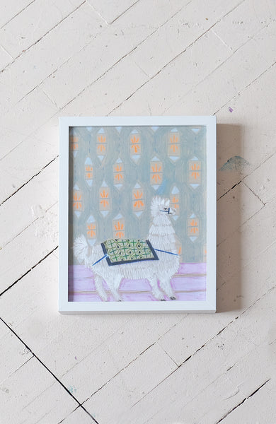 """L"" is for Llama - Print"