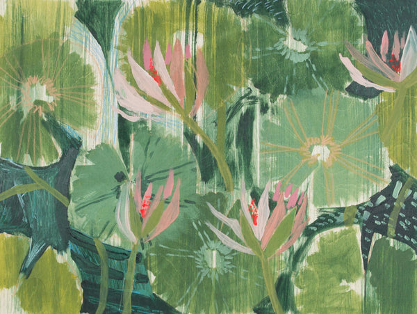 AQUATIC PLANT NO. 12 - PRINT