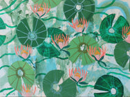 Aquatic Plant No. 4 - 30 x 40