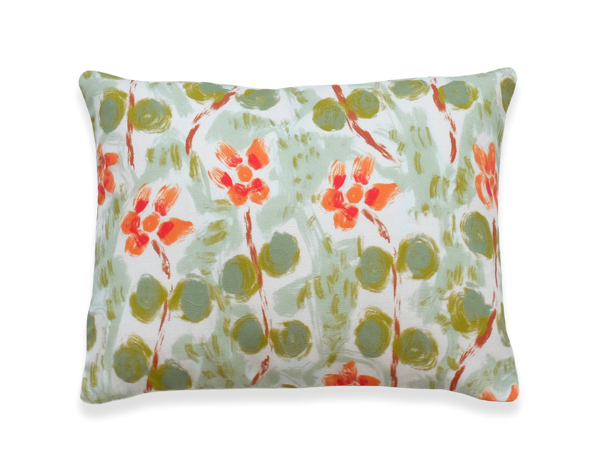 Eila - Misty Green Pillow