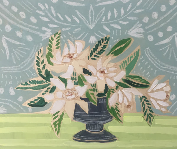 GARDENIAS - FLOWERS FOR HOLLIS - 16X20