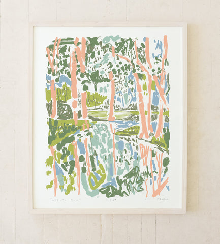 MIDDLETON PLACE - 24x30 SILK SCREEN PRINT