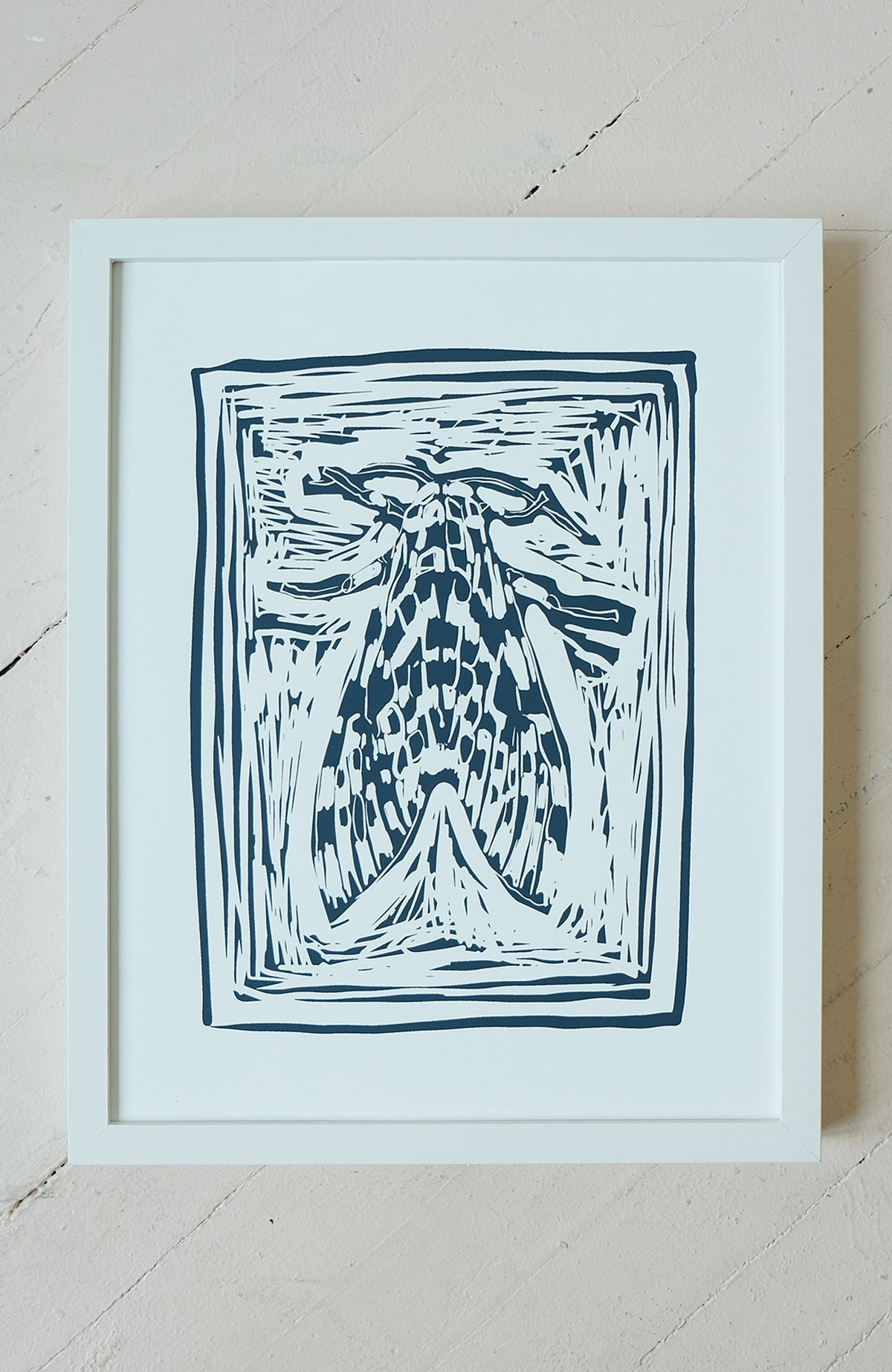 Millie the Moth - Silkscreen Print