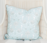 Minty Daffodils Pillow
